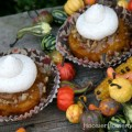 Pumpkin Praline CupcakesRecipe on HoosierHomemade.com