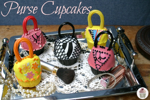 These Purse Cupcakes