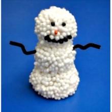 Qtips-snowman