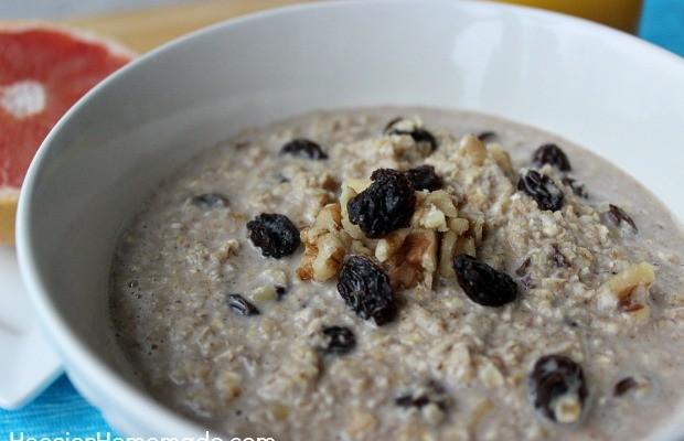 Oatmeal Raisin Cookies for Breakfast :: Recipe on HoosierHomemade.com