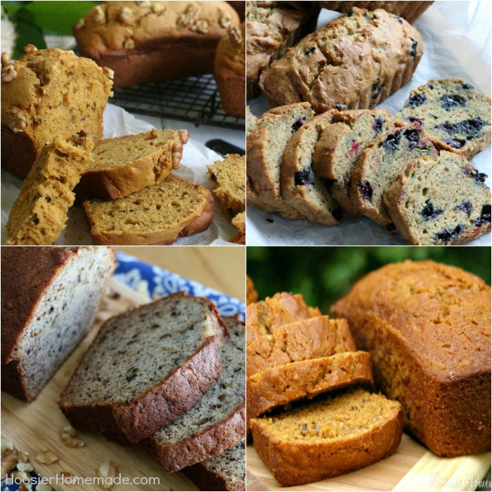 4 Delicious Quick Bread Recipes