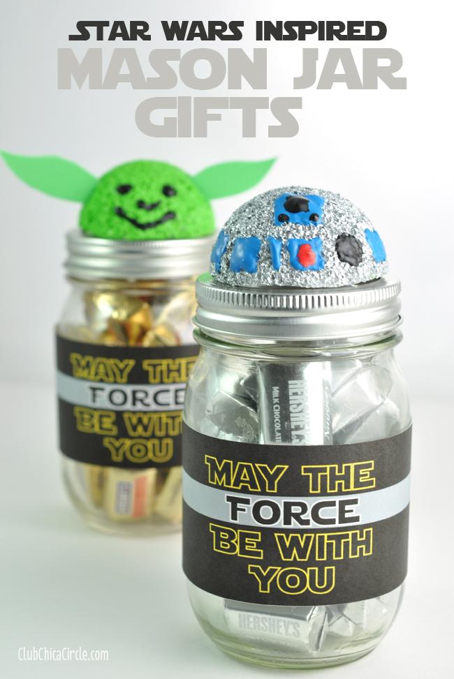 Star Wars Mason Jar Gift