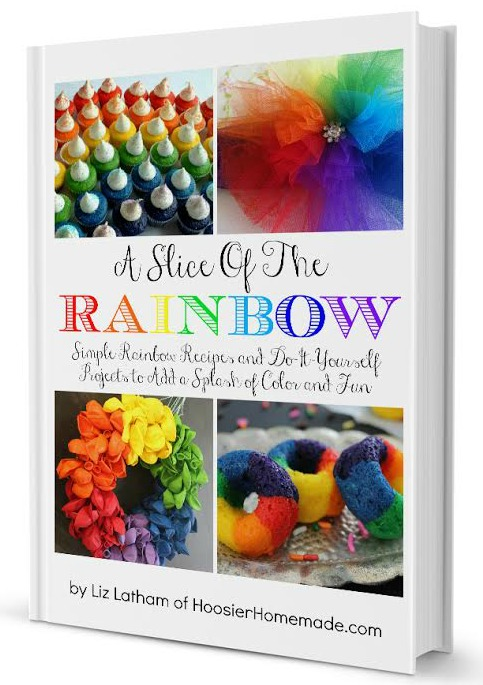 A Slice of the Rainbow eBook | Available on HoosierHomemade.com