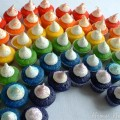 Rainbow Cupcakes.close