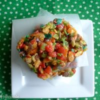 Rainbow Rice Krispie Treats