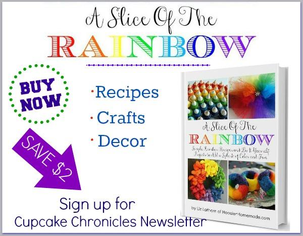 SAVE $2 on A Slice of the Rainbow eBook | Available on HoosierHomemade.com