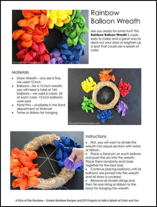 A Slice of the Rainbow eBook | Available on HoosierHomemade.com