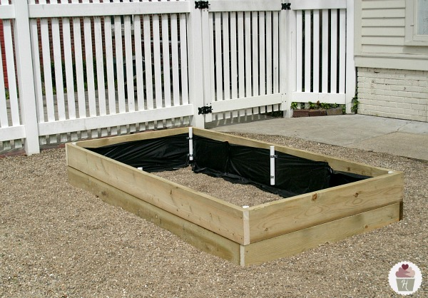 How to make a Raised Garden Bed Cover Hoosier Homemade