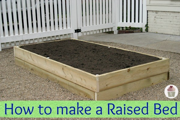 How to make a Raised Garden Bed Hoosier Homemade