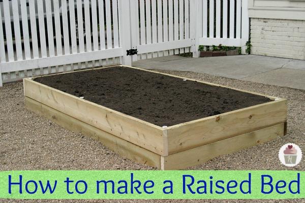 How to make a Raised Garden Bed :: HoosierHomemade.com