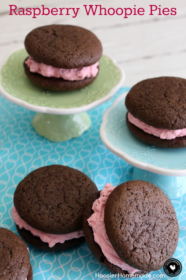 Raspberry-Lemon Whoopie Pies Recipes — Dishmaps