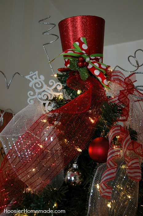 Half Pre Lit Christmas Tree