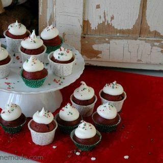 Red Velvet Cupcake Bites