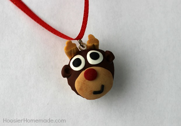 Reindeer Cupcake Charm