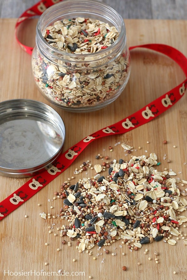 Reindeer Food for jar
