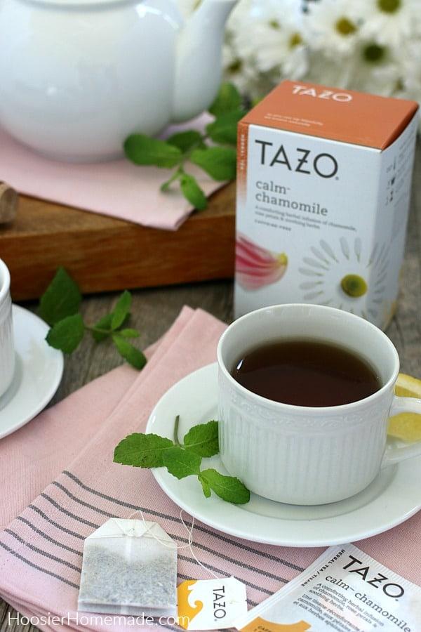 Cup of TAZO Calm Tea
