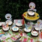 Retro Cupcakes - November 2011
