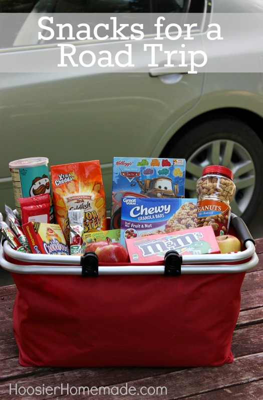 Road Trip Snacks on HoosierHomemade.com