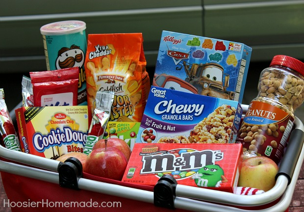 Food Ideas For Long Family Road Trip Easy To Pack