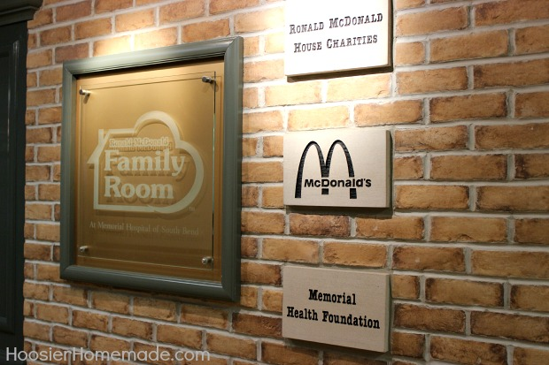 Ronald McDonald House Family Room South Bend Indiana