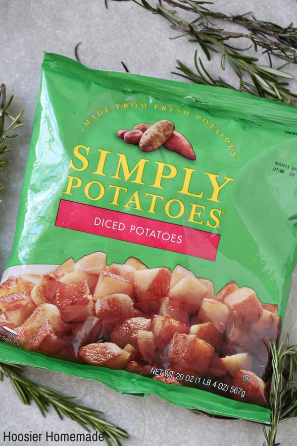 Rosemary Parmesan Potatoes