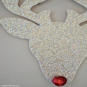 Rudolph Decoration :: HoosierHomemade.com