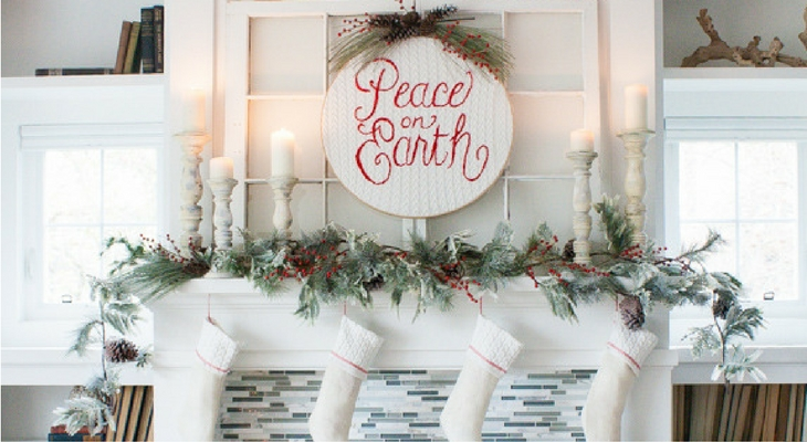 Christmas Cottage Decor 100 Days Of Holiday Inspiration Hoosier Homemade
