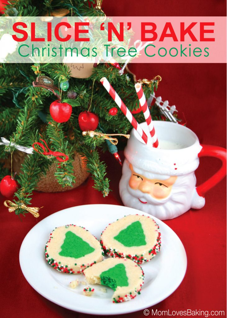 Slice n' Bake Christmas Tree Cookies- easy and fun for the whole family!