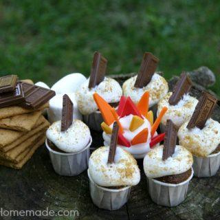 S'Mores Cupcake Bites