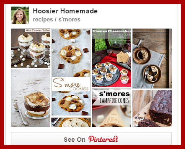 S'Mores Pinterest Board