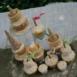 Sand Castle Cupcakes - July 2012