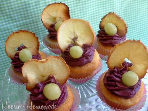 Cupcake Challenge featuring Sangria Cupcakes