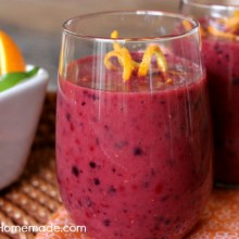 Sangria Smoothie | Recipe on HoosierHomemade.com