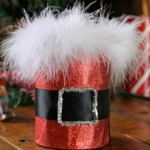 Santa Bucket :: HoosierHomemade.com