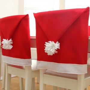 Santa Chair Cover :: HoosierHomemade.com