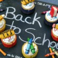 Back to School Cupcakes on HoosierHomemade.com