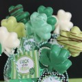 Shamrock Chocolate Pops.C