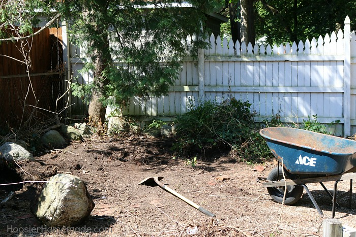 SHE SHED: BACKYARD MAKEOVER -- Need a space to call your own? Follow along as we share the building of the shed - turn it into a Farmhouse She Shed and give the Backyard a much needed Makeover!