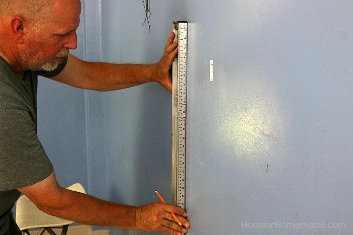 Measuring Shiplap Wall; shiplap walls