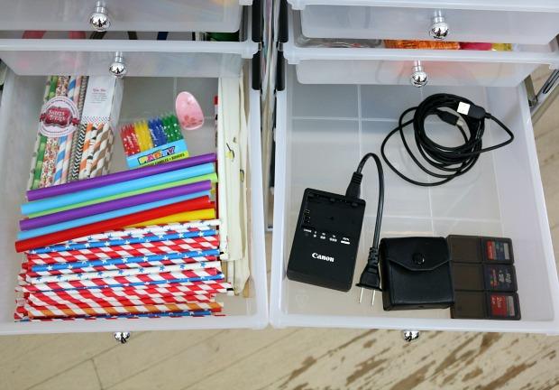 Studio Organizer Cart