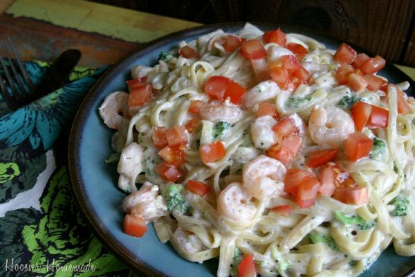 Recipe shrimp and broccoli pasta