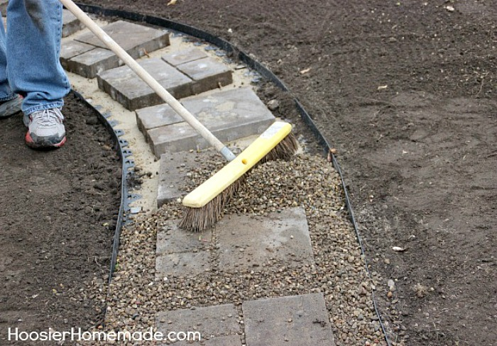 Sidewalk Gravel