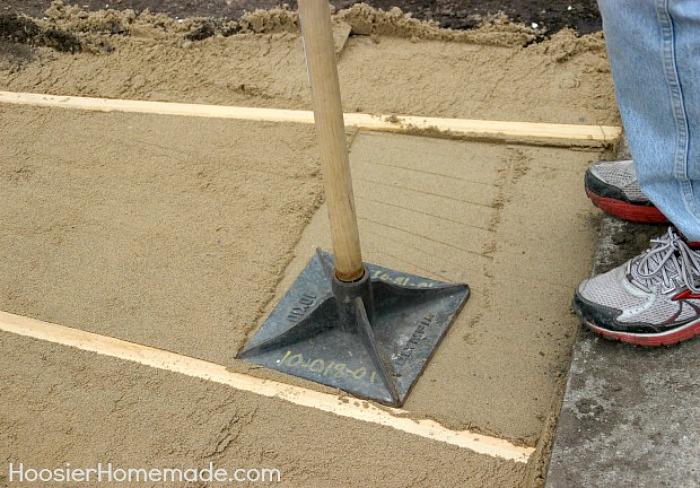 Sand for Walkway