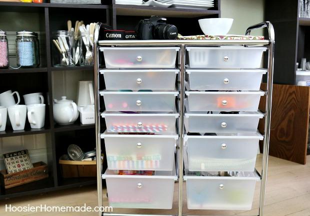 Simple Craft Organizing