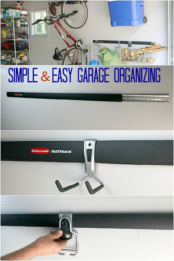 Bats - Balls - Bikes - the list goes on and on! Learn How to Organize Sports Equipment in your garage once and for all! Click on the Photo to get Organized!