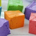 Simple Homemade Marshmallows | Recipe on HoosierHomemade.com