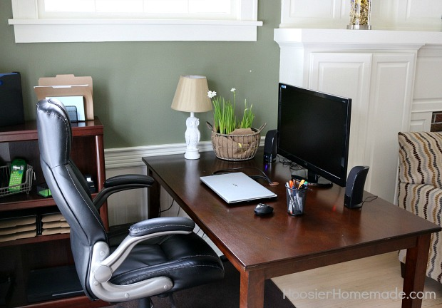 Budget friendly tips on organizing your home office - How to organize your desk at home ...