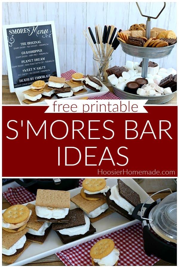 S'mores Bar Ideas