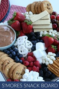 Fruit and Cookie Board