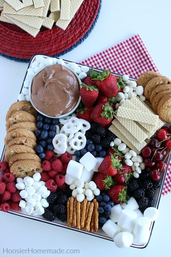 Patriotic Dessert Board